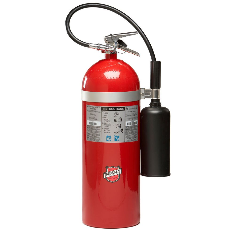 Buckeye 20 Lb Carbon Dioxide Bc Fire Extinguisher